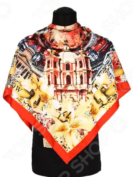 Платок Bona Ventura PL.XL-SLK5.6 недорогой платок на шею для женщин