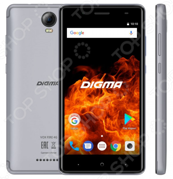 Смартфон Digma Vox Fire 4G 8Gb digma vox flash 4g