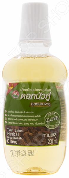 Ополаскиватель для полости рта Twin Lotus Clove ополаскиватели для рта twin lotus твин лотус ополаскиватель для полости рта растительный 330 мл