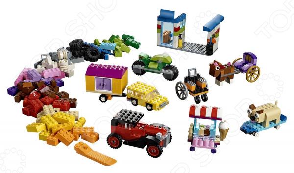 Конструктор игровой LEGO «Модели на колесах» дэниел липковиц lego книга игр оживи свои модели
