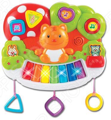Игрушка музыкальная S+S TOYS Bambini «Котик» игрушка s s toys bambini 2 в 1 развивающий телефон и пианино сс76752