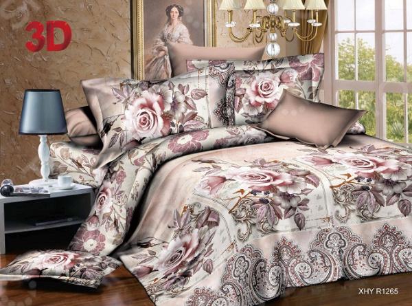 Комплект постельного белья «Хрустальные сны». Евро - артикул: 1751591