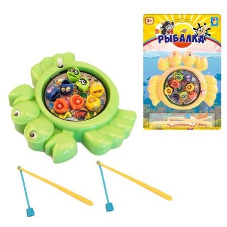 Купить Игра рыбалка 1 Toy Ну, погоди!