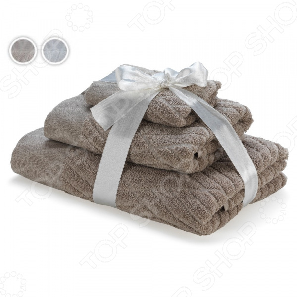 Комплект полотенец Dormeo «Люкс» 3 в 1