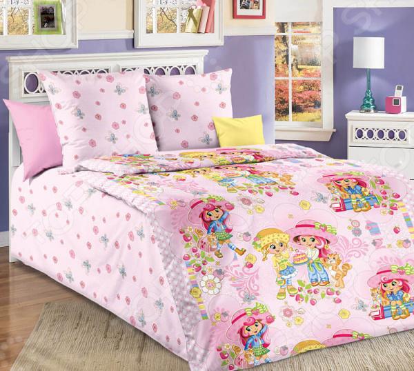 Детский комплект постельного белья Бамбино «Девчата»