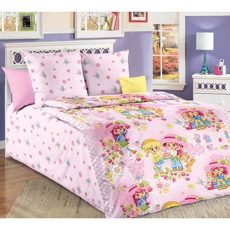 Купить Детский комплект постельного белья Бамбино «Девчата»