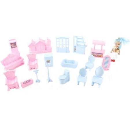Купить Набор игровой с куклой Shantou Gepai 977