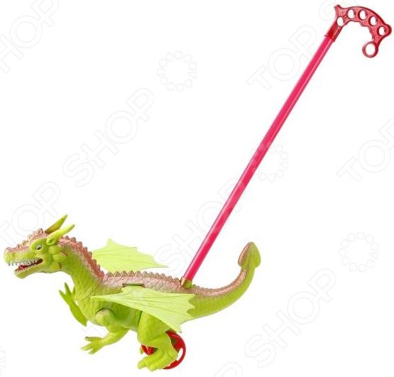 Игрушка-каталка со звуком Наша Игрушка «Динозавр». В ассортименте игрушка