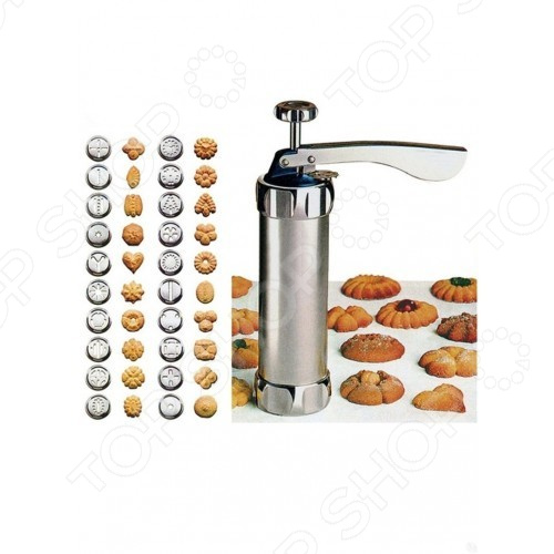 Шприц-дозатор кондитерский для печенья. Количество насадок: 20 шт