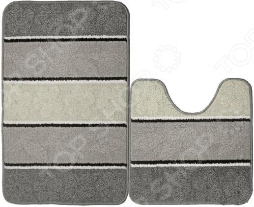 Набор ковриков для ванной комнаты Kamalak textil УКВ-1044
