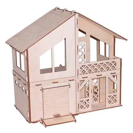 Купить Домик сборный для куклы PAREMO «Дача с гаражом»