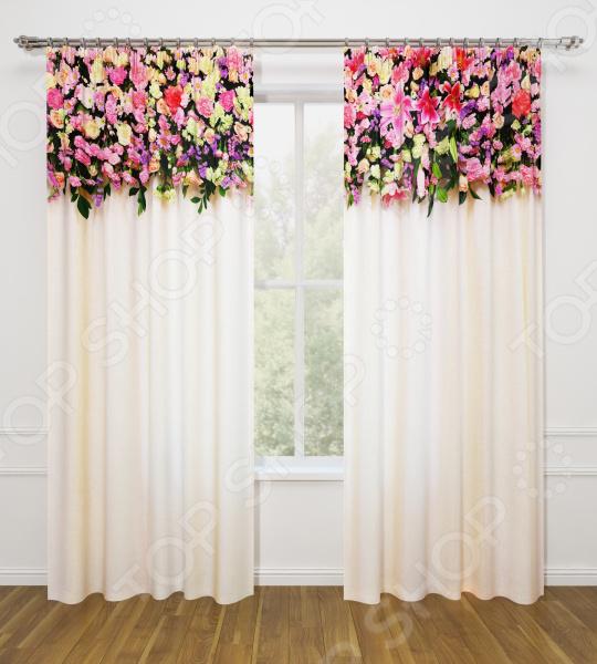 Фотошторы Стильный дом «Розовая композиция» шторы стильный дом фотошторы альстромерия