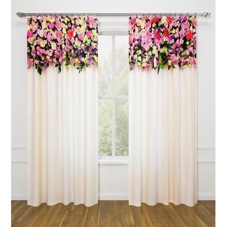 Купить Фотошторы Стильный дом «Розовая композиция»