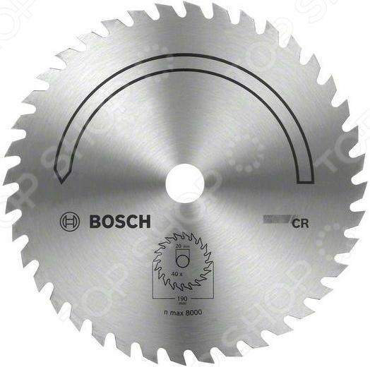 Диск отрезной Bosch CR диск отрезной для ручных циркулярных пил bosch optiline wood 2608640617