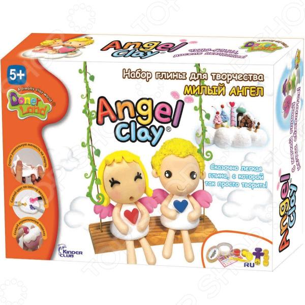 Набор для лепки Kinder Club «Милый ангел» набор donerland angel clay милый ангел аа07011