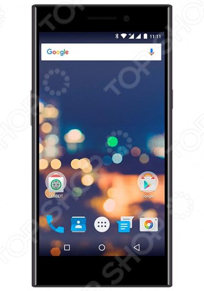 Смартфон SENSEIT E510 16Gb сотовый телефон senseit e510