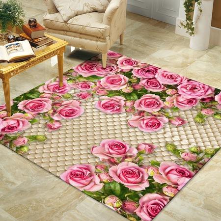 Купить Ковер «Розовый сад»