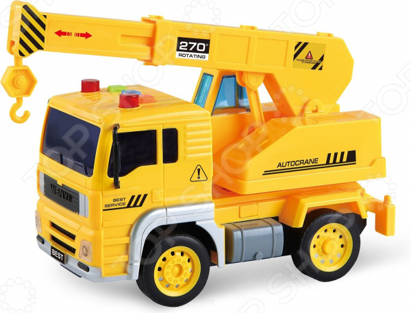 Машинка игрушечная Taiko «Кран» B2004 машины taiko zoom строительная техника кран радиоуправляемый
