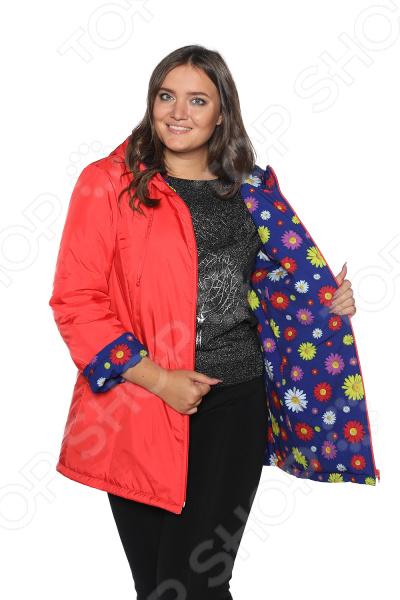 Куртка Гранд Гром «Букет ромашек». Цвет: красный applegate t40 adc