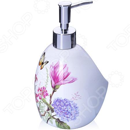 Диспенсер для мыла Loraine LR-27749 «Цветы»
