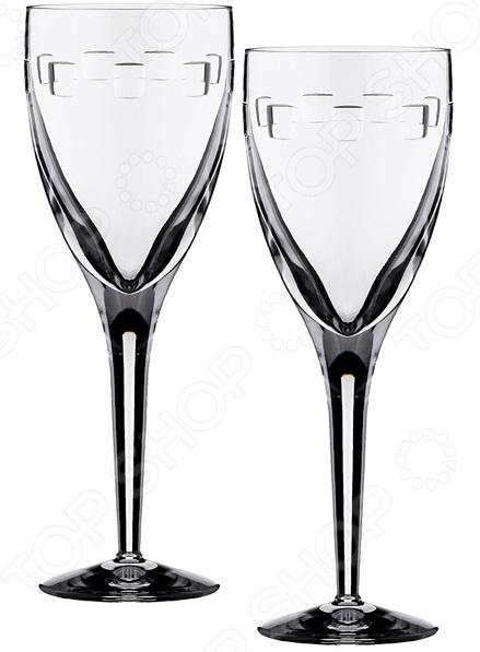 Набор бокалов для вина 29-3116 набор бокалов crystalex ангела оптика отводка зол 6шт 400мл бренди стекло