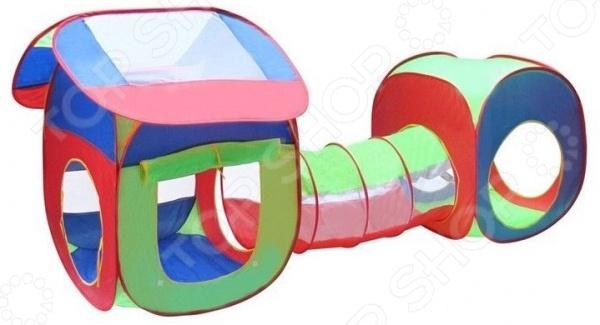 Палатка игровая «Два домика» игрушки для улицы игровая палатка с мячиками 100 шт calida вилла 85х85х110см