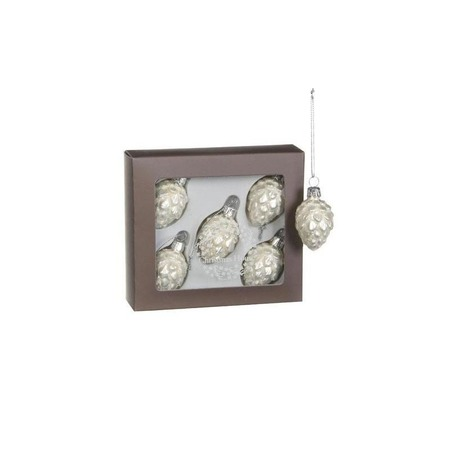 Купить Набор елочных украшений Christmas House «Шишки» 1694603