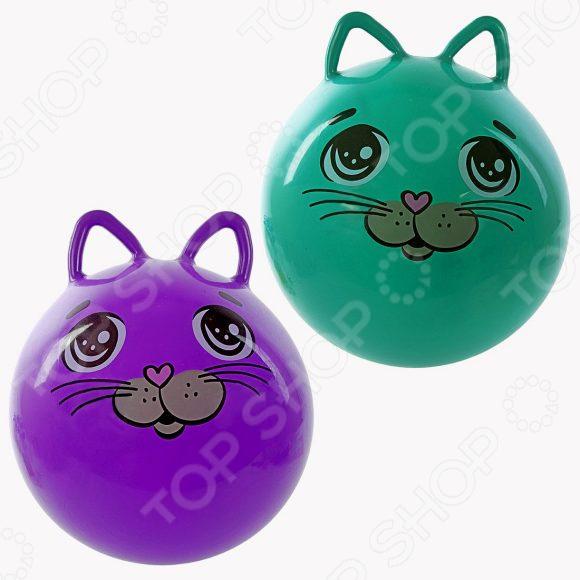 Мяч-попрыгун Moby Kids с ушками «Котенок». В ассортименте мяч попрыгун moby kids котенок пластик от 3 лет цвет в ассортименте 635588