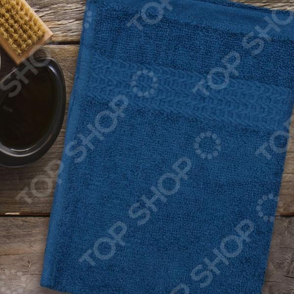 Полотенце махровое Amore Mio AST Classic. Цвет: синий полотенце махровое amore mio ast classic цвет малиновый
