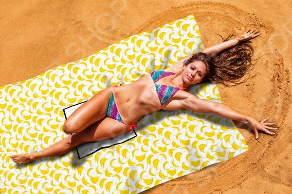 Покрывало пляжное Сирень «Банановый смузи»