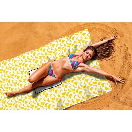 Купить Покрывало пляжное Сирень «Банановый смузи»