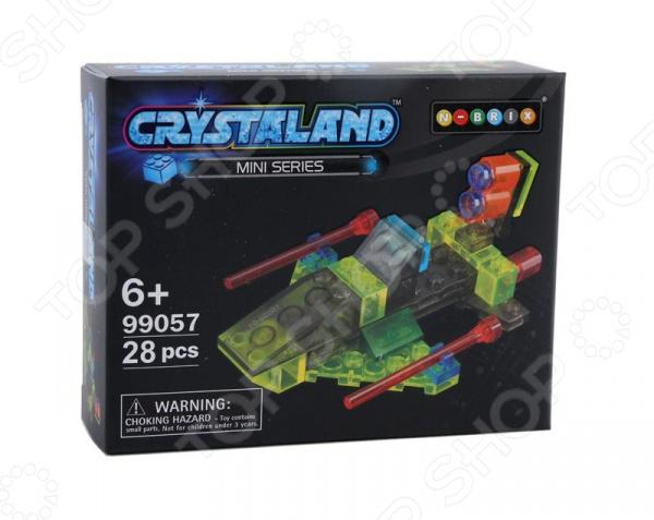 Конструктор для мальчика N-BRIX Crystaland «Космическая Яхта» конструктор crystaland shg006 истребитель 4 в 1 67 дет