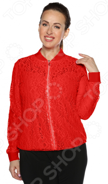 Бомбер Pretty Woman «Очарование». Цвет: красный недорго, оригинальная цена