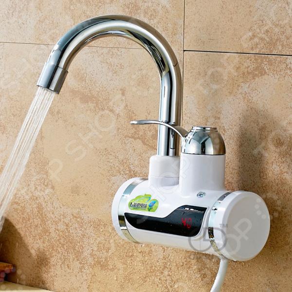 Кран водонагреватель с душем 1741878. В ассортименте
