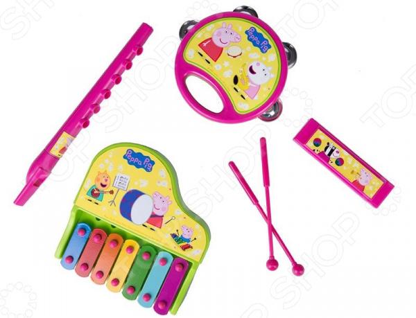 Набор музыкальных инструментов Peppa Pig на блистере
