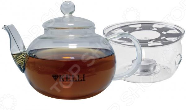 Чайник заварочный на подставке Kelli KL-3092