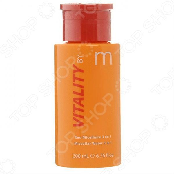 Мицеллярная вода для снятия макияжа 3в1 Matis Энергия витаминов для молодой кожи