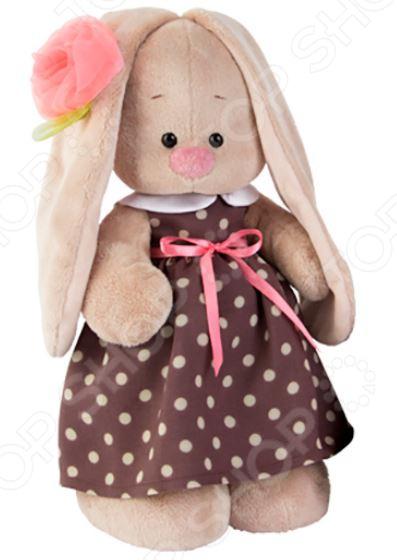 Мягкая игрушка BUDI BASA «Зайка Ми в кофейном платье»
