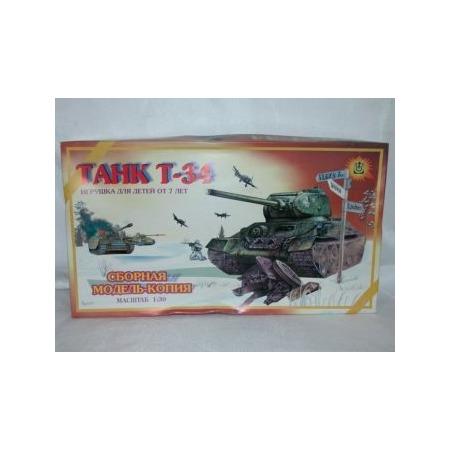 Купить Сборная модель танка Огонек «Т-34» С-179