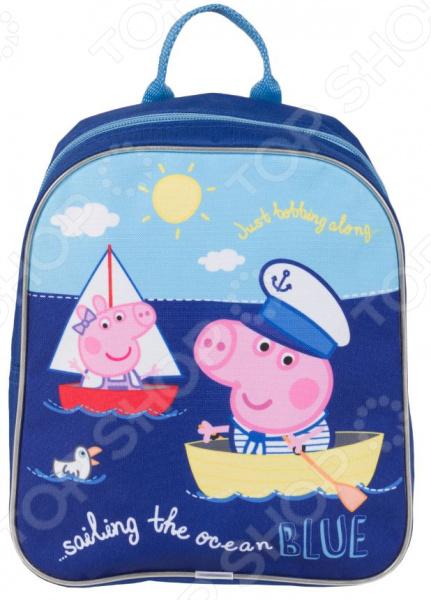 цены Рюкзак дошкольный Peppa Pig «Море»