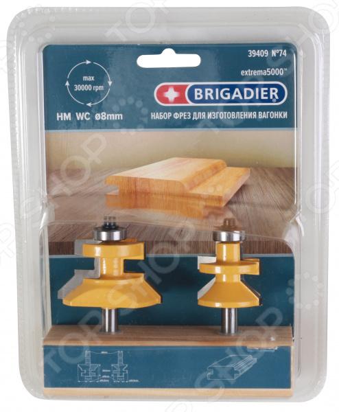 Набор фрез Brigadier 39409