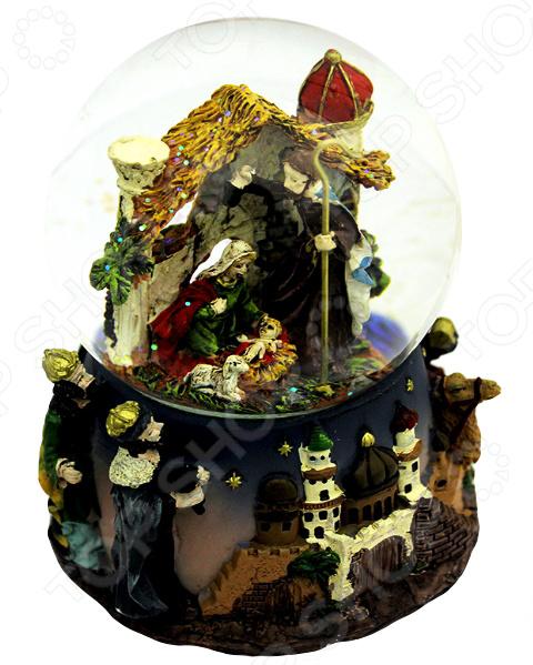 Снежный шар музыкальный Crystal Deco «Рождество» Снежный шар музыкальный Crystal Deco «Рождество» /