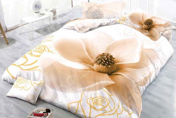 Комплект постельного белья Бояртекс «Нежный бутон». 1,5-спальный