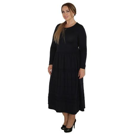 Купить Платье VAY «Застенчивая улыбка». Цвет: темно-синий