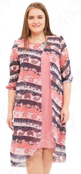 Платье Pretty Woman «Лесная нимфа». Цвет: розовый