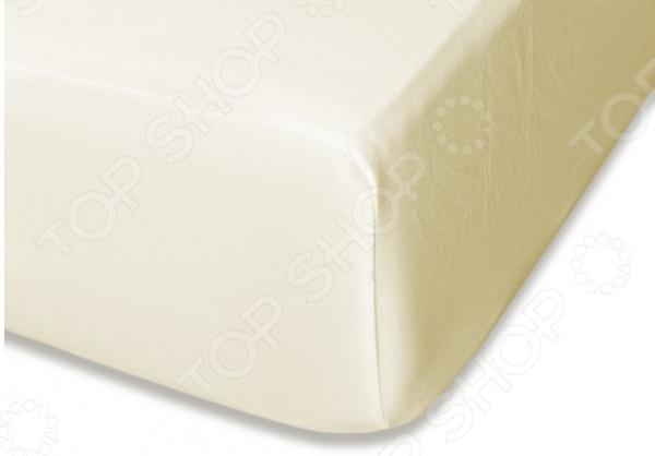 Простыня на резинке Cleo 045-MS простыня на резинке cleo 160х200 см cl