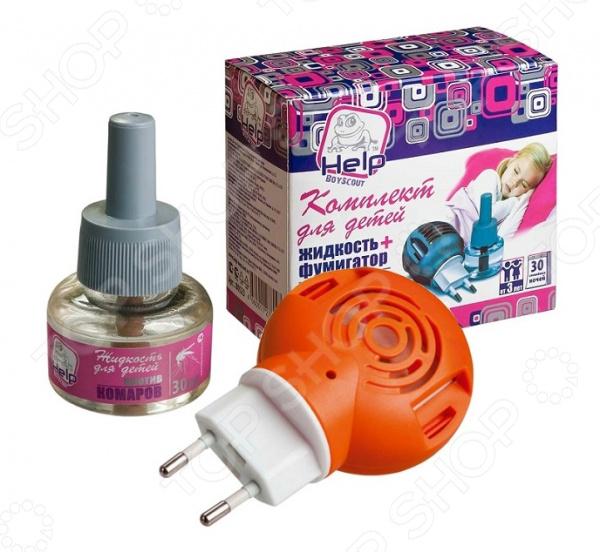 Комплект для защиты от комаров Boyscout детский Help недорого