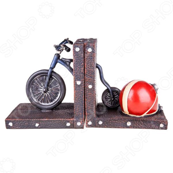 Набор дежателей для книг Miolla «Ретро велосипед» календарь настольный miolla ретро фотокамера