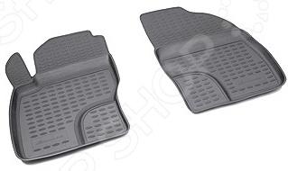 Комплект ковриков в салон автомобиля Novline-Autofamily УАЗ 3909/3741 Novline-Autofamily - артикул: 906516