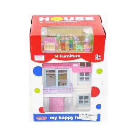 Купить Кукольный дом с аксессуарами Shantou Gepai 08775